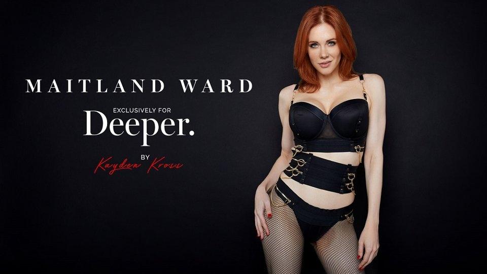 Maitland Ward Inks 1st Exclusive With Kayden Kross' Deeper