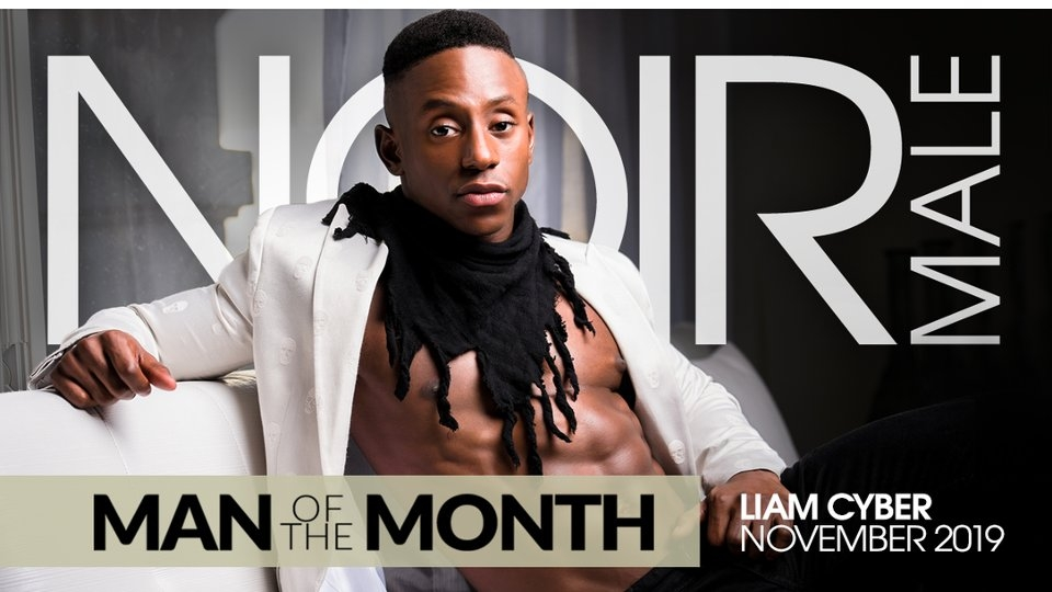 Liam Cyber Is Noir Male's November 'Man of the Month'