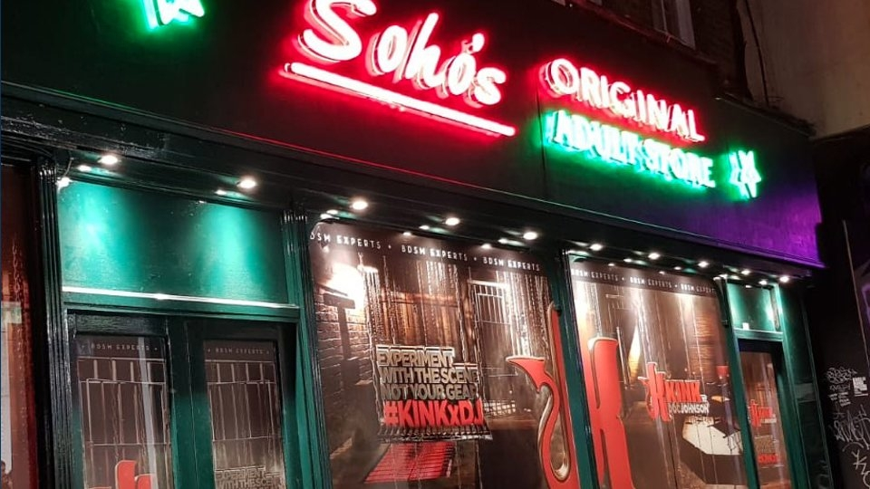 Doc Johnson Partners With Soho's Original Adult Store in London