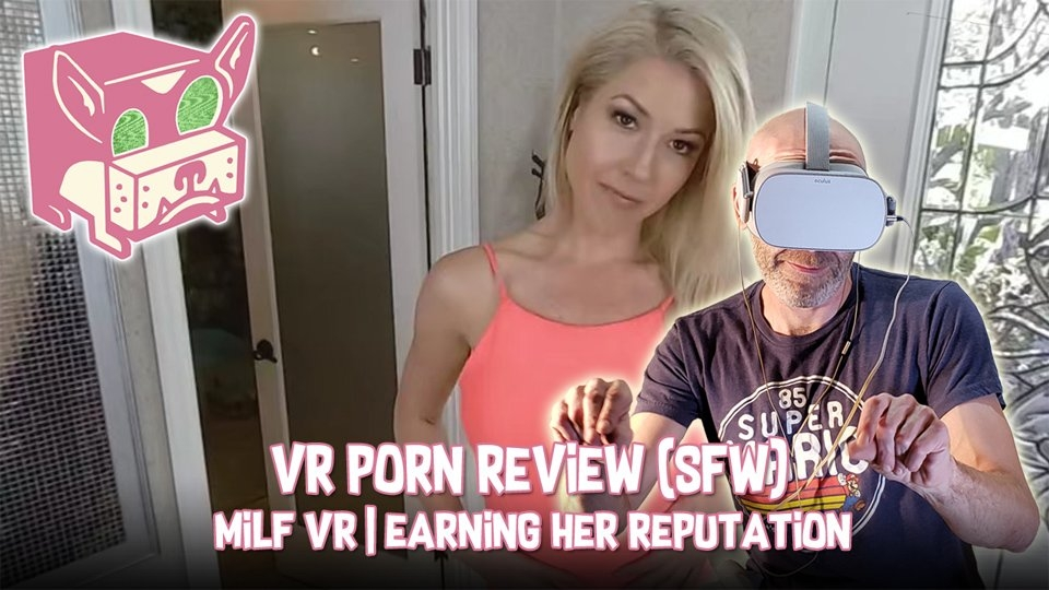 FalseDogs Pokes Fun at Kit Mercer's MILF VR Scene in SFW Video Review
