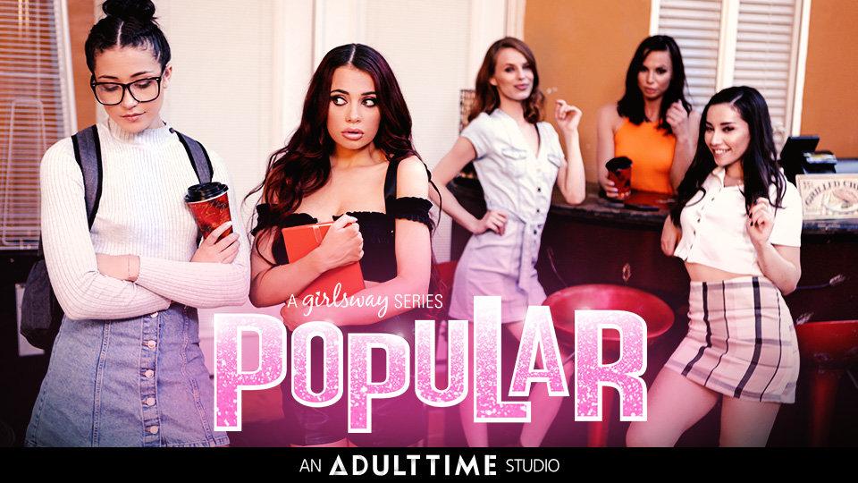 Sabina Rouge, Avi Love Rule the School in 'Popular' for Girlsway