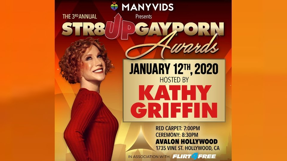 Kathy Griffin to Host 3rd Annual Str8UpGayPorn Awards
