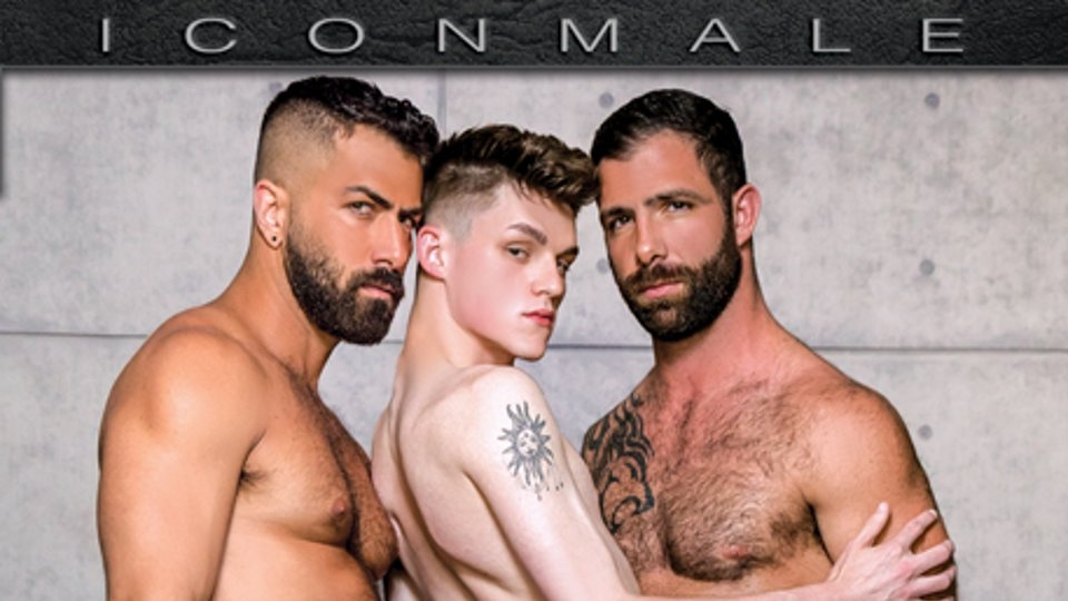 Adam Ramzi is Hunky 'Uncle Bobby' for Icon Male