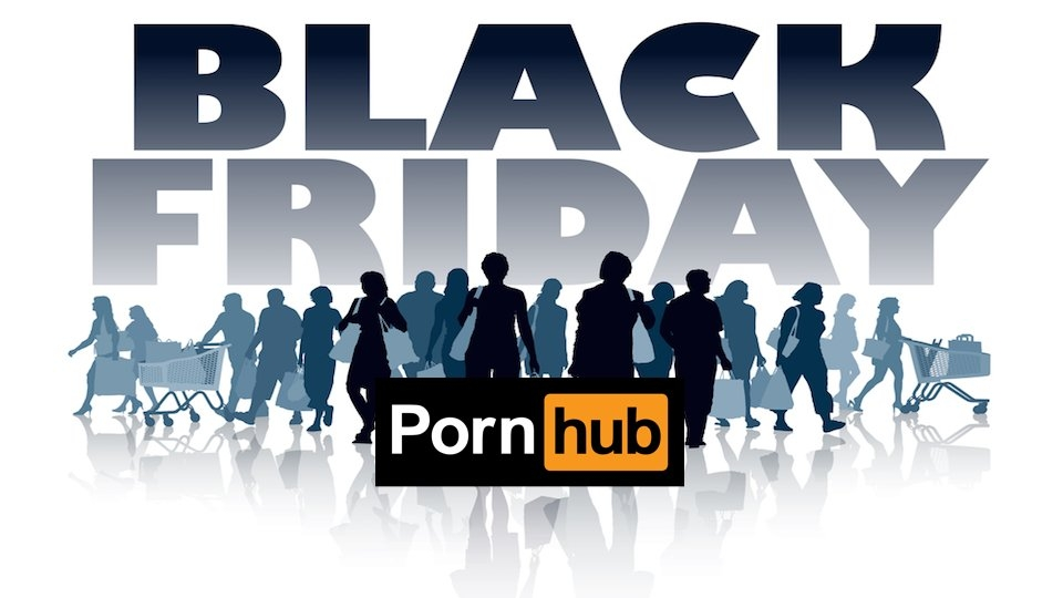 Black (and Orange) Friday: Endless Pornhub Deal on Post-Turkey Spree Day