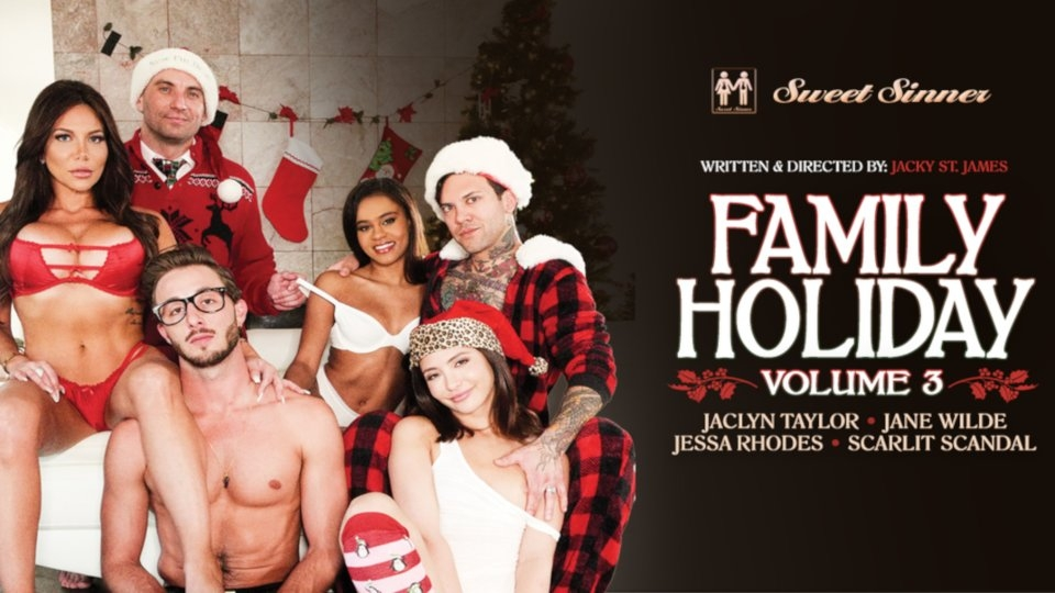 Fauxcest Takes Center Stage in Sweet Sinner's 'Family Holiday 3'