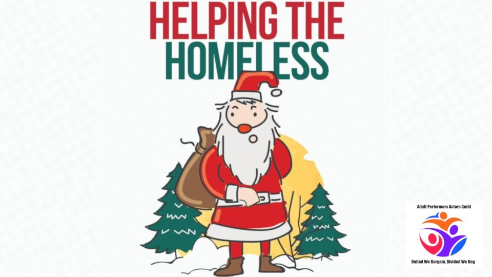 APAG Announces 2nd Annual 'Helping the Homeless' Holiday Drive
