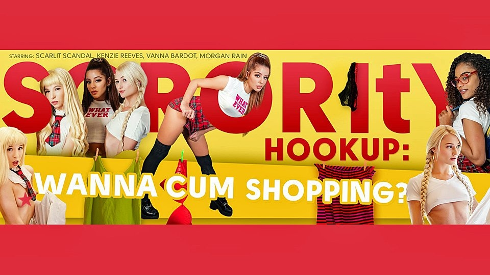 VR Bangers' 'Sorority Hookup' Kicks-Off Holiday Shopping Spree