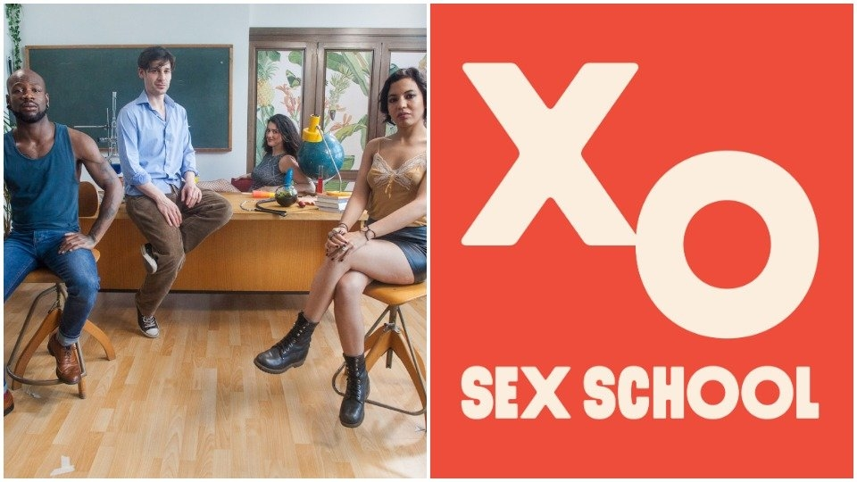 Class is in Session for 'Sex School' on PinkLabel.tv