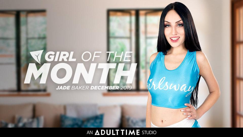 Jade Baker Is Girlsway's 'Girl of the Month' for December