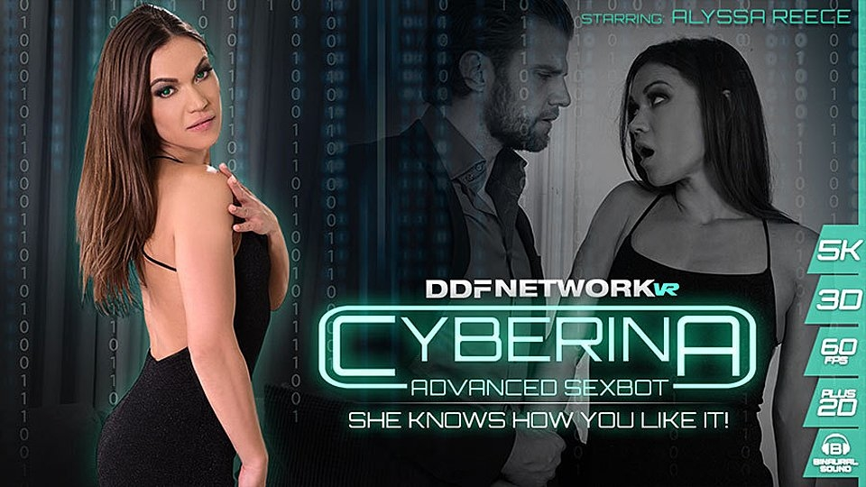 Alyssa Reece Is 'Advanced Sexbot' in Newest DDFNetworkVR Scene