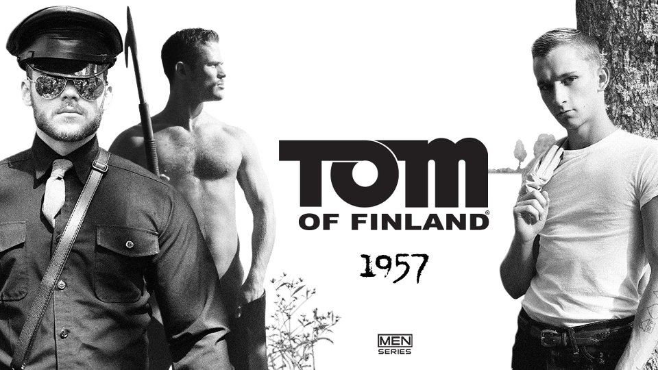 Tom of Finland, Men.com Partner on Erotic Anthology Series