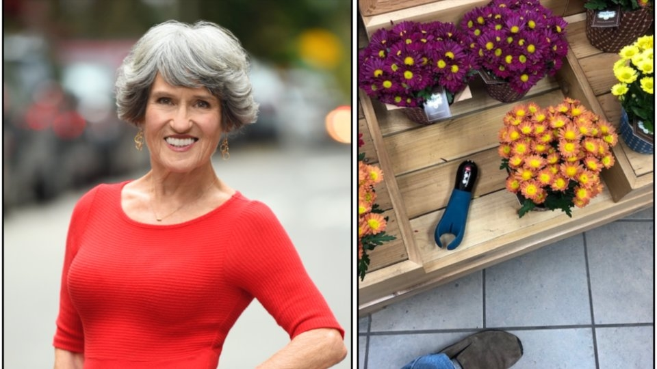 Senior Sexpert Joan Price Launches 'Sex Toy Sightings' Photo Contest