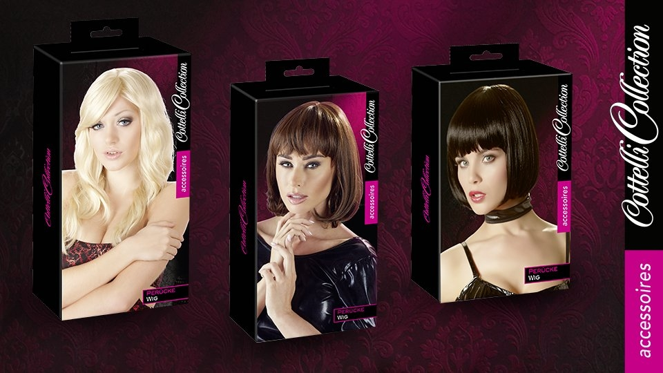 Orion Adds Wigs, Pasties to Cottelli Collection