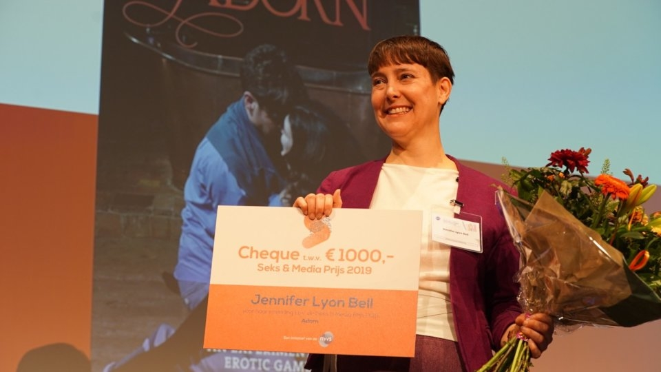 Jennifer Lyon Bell's 'Adorn' Becomes 1st Adult Film to Win Dutch 'Sex & Media Prize'