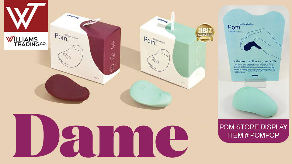 Williams Trading Offers Free Dame Products 'Pom' Display