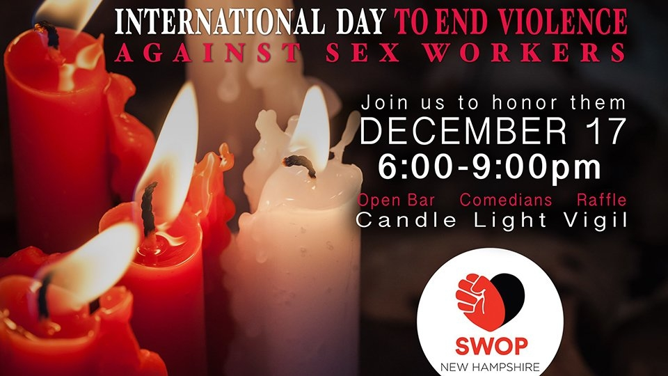 SWOPNH to Host Fundraiser to Help Fight Violence Against Sex Workers