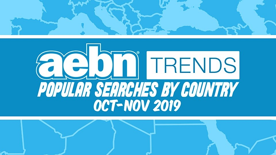 AEBN Reveals Popular Searches by Country for October, November