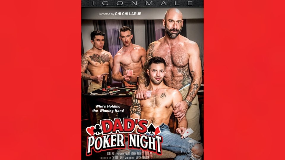 Taboo Passions Erupt in 'Dad's Poker Night' for Icon Male