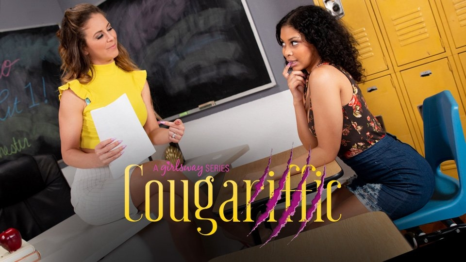 Cherie DeVille, Jeni Angel Are 'Cougariffic' for Girlsway