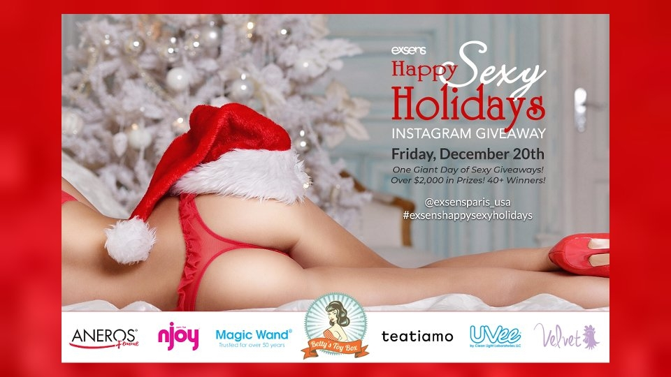 Exsens Sets Prize-Laden 'Happy Sexy Holidays' Contest