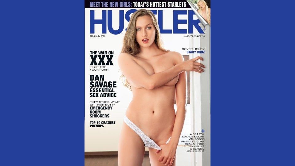 Stacy Cruz Lands Cover of February 2020 Hustler