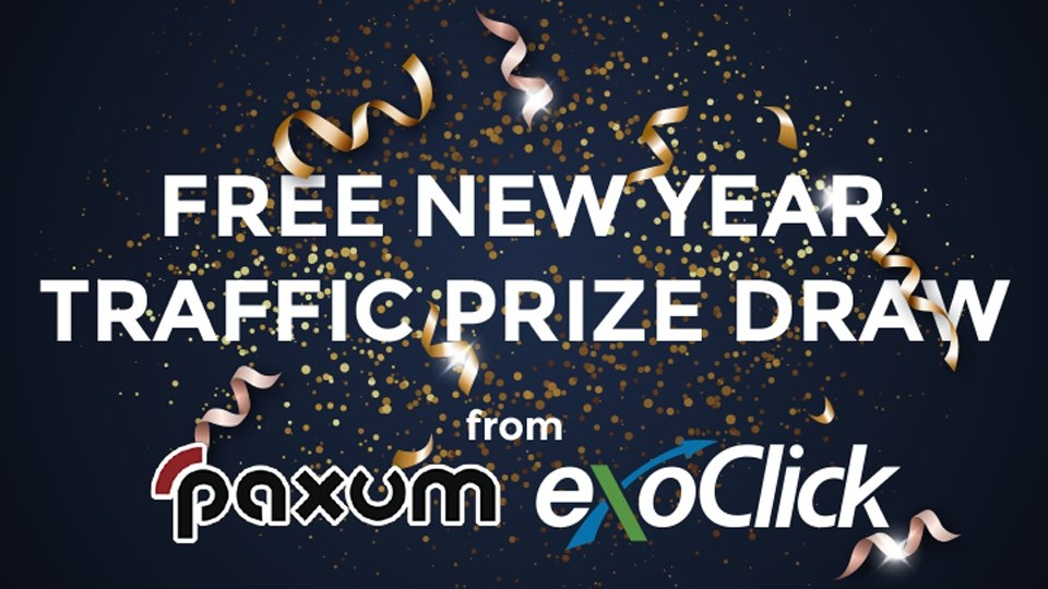 ExoClick, Paxum Partner for $1K New Year's Traffic Draw