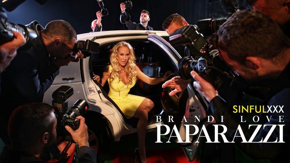 Brandi Love Toplines Glamcore 'Paparazzi' for SinfulXXX