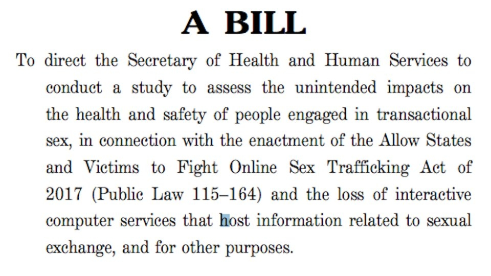 Rep. Ro Khanna Introduces Bill to Study Effects of SESTA/FOSTA on Sex Workers