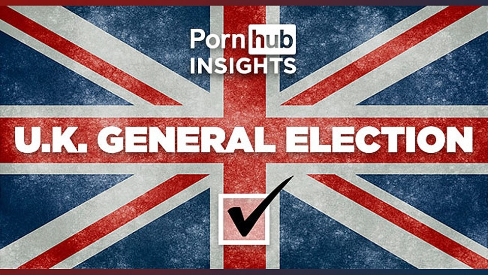 Pornhub Reveals Reach During 2019 UK Election