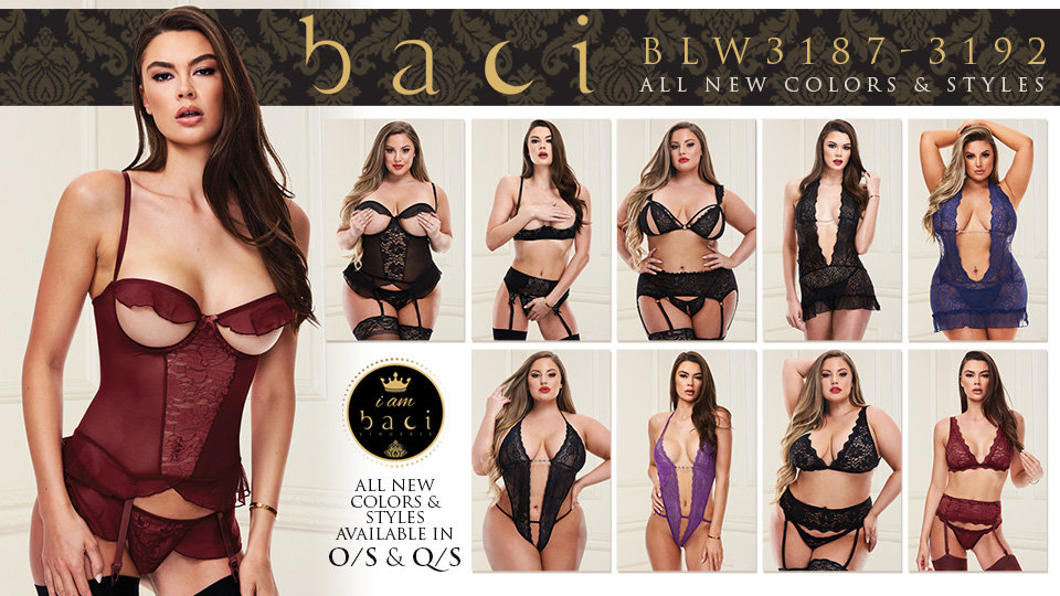 Xgen Products Now Shipping New Baci Lingerie Styles