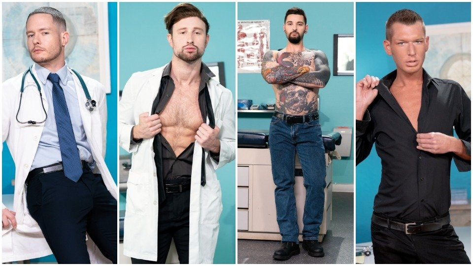 Hunky Ashley Ryder Is a 'Punchy Proctologist' for Club Inferno