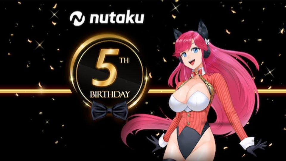 Nutaku Marks 5th Anniversary, Touts 45 Million Players