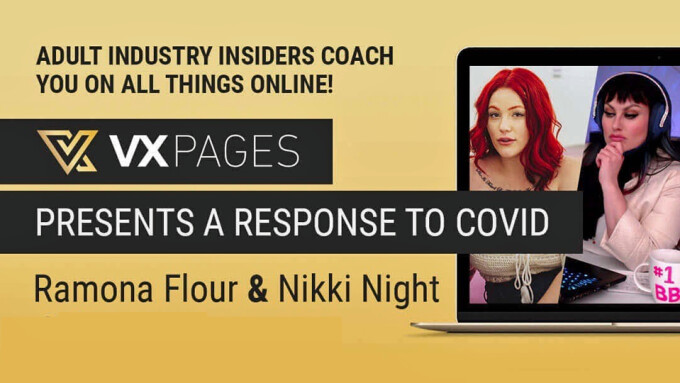 VXPages Teams With Nikki Night, Ramona Flour to Host Free Webinar for Talent