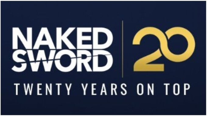 NakedSword Sets 20th Anniversary Giveaways for July