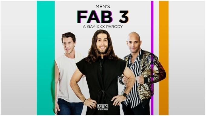 Men.com Touts Final Episode of Erotic Parody 'Fab 3'