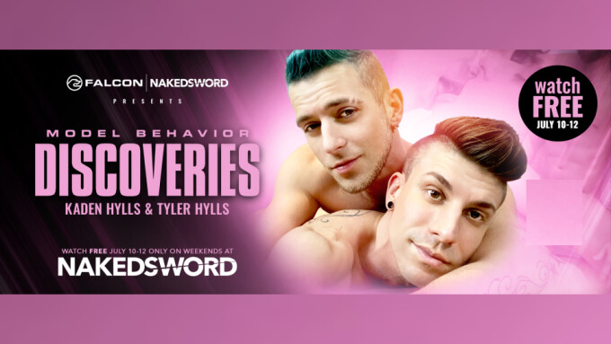 NakedSword Debuts Tyler, Kaden Hylls in 'Model Behavior'