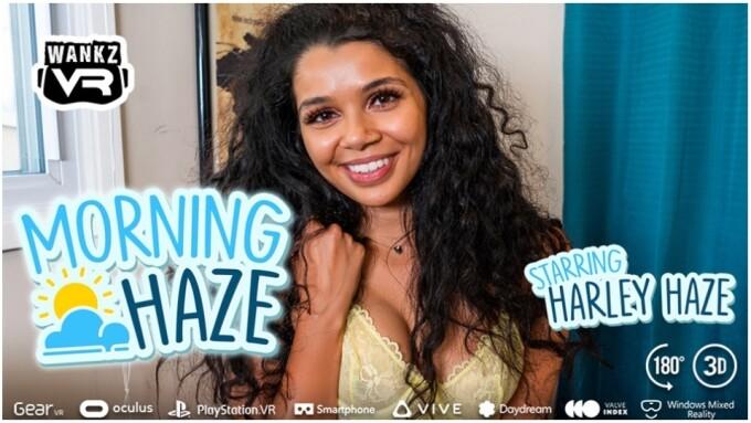 Harley Haze Marks Her VR Debut in 'Morning Haze' for WankzVR