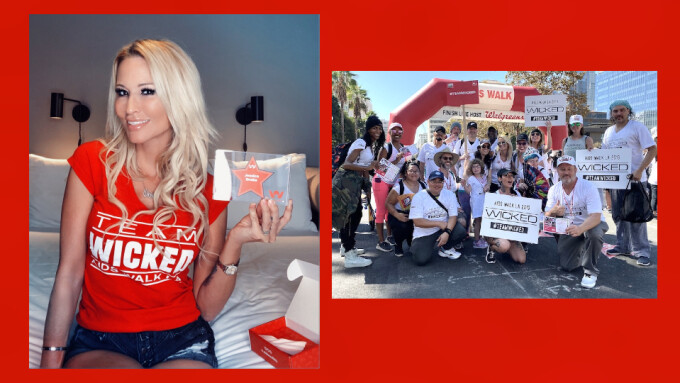 Jessica Drake Invites Biz to Join 'Team Wicked' for Virtual AIDS Walk Los Angeles