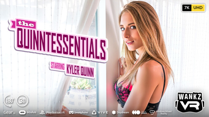 Kyler Quinn Stars in WankzVR's 'The Quinntessentials'