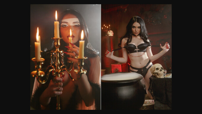 Catjira Stars in New Playboy Plus 'Toil & Trouble' Photo Spread