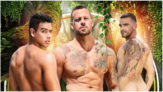 Damien Crosse Returns in 'Salty Boys' for NakedSword Originals