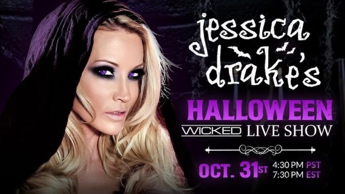 Jessica Drake to Host Live Halloween Show on Wicked.com
