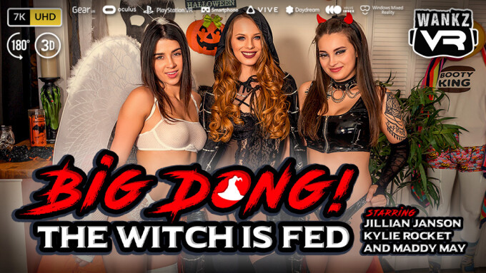 WankzVR Casts Halloween Spell in 'Big Dong! The Witch is Fed'