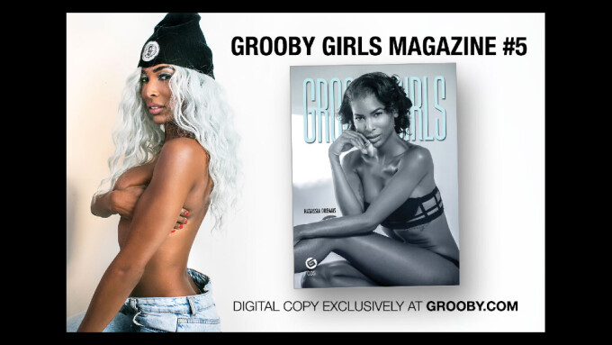 Natassia Dreams Is New Cover Star of Grooby Girls Magazine