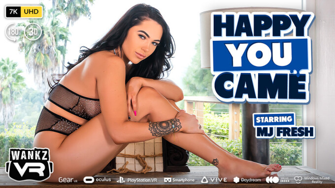 MJ Fresh Stars in WankzVR's 'Happy You Came'