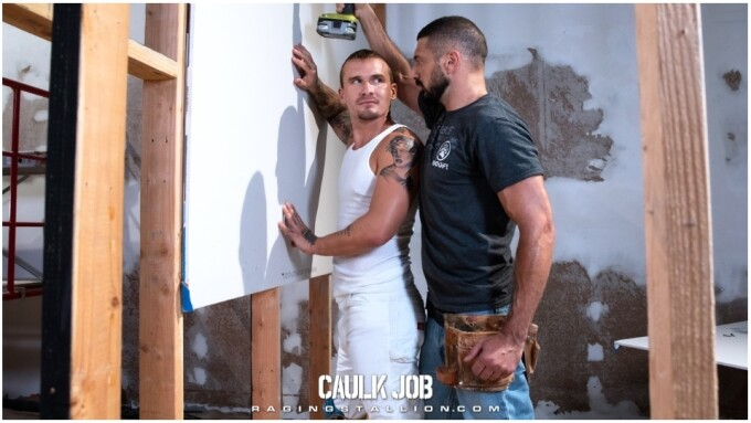 Raging Stallion Books Blue-Collar Fantasy 'Caulk Job'