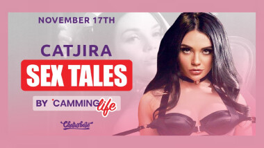 Catjira  Guests on 'Camming Life' Podcast 'Sex Tales'