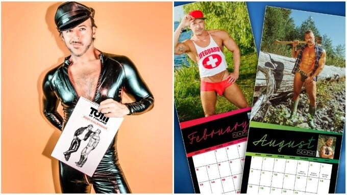 PeachyKings Debuts 2021 Tom of Finland, Terry Miller Beefcake Calendars