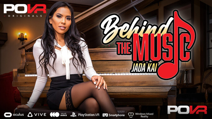 Jada Kai Goes 'Behind the Music' in New POVR Fantasy