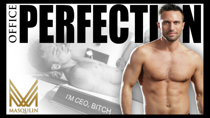 Colby Tucker Joins Sexy Studs in Masqulin's 'Office Perfection'